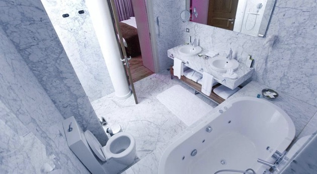 トムトム・スイートのバスルーム
