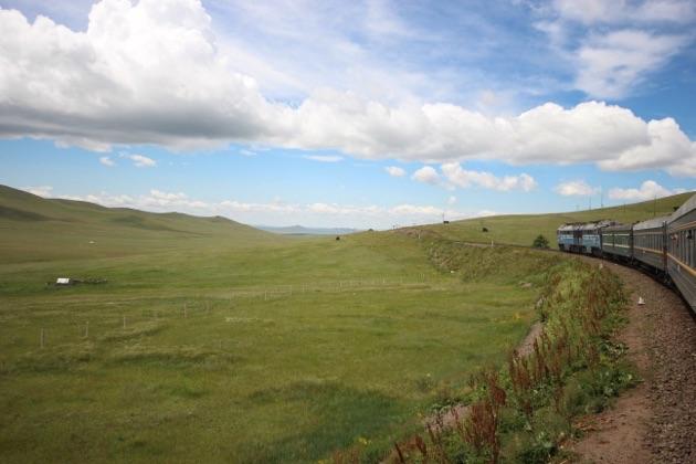 モンゴル鉄道