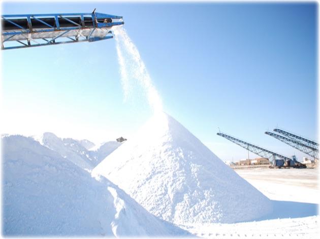 トゥズ湖の塩工場