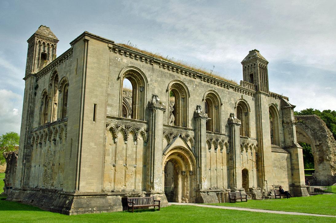 グラストンベリーのGlastonbury-Abbey