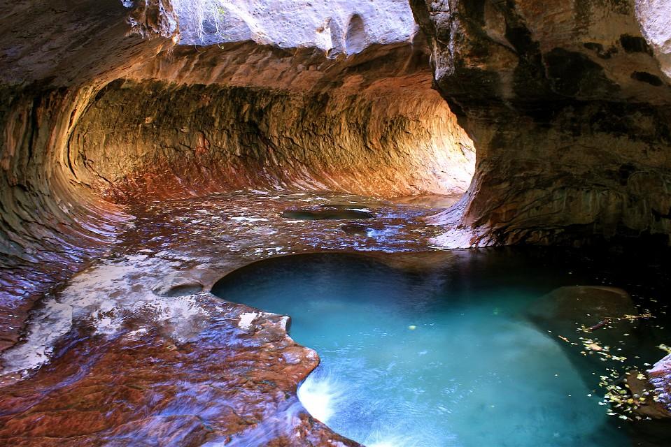 ザイオン国立公園 Zion National Parkのサブウェイ