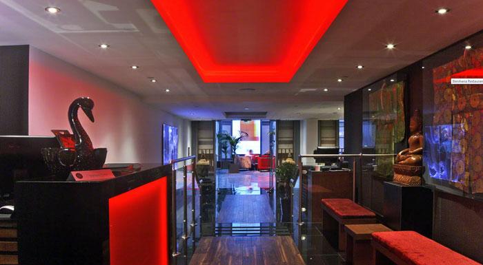 グランジセントポールホテルの紅花レストラン