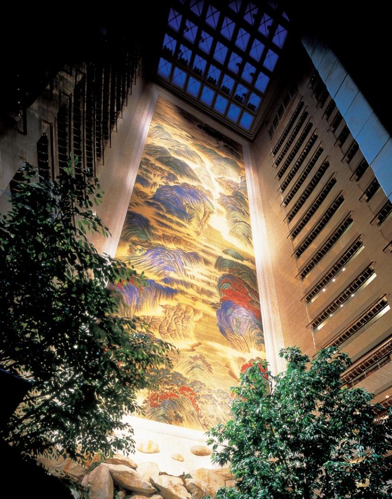 アイランド・シャングリ・ラ香港の壁画