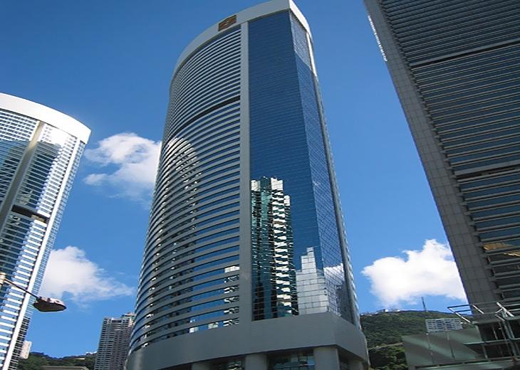 アイランド・シャングリ・ラ香港の外観