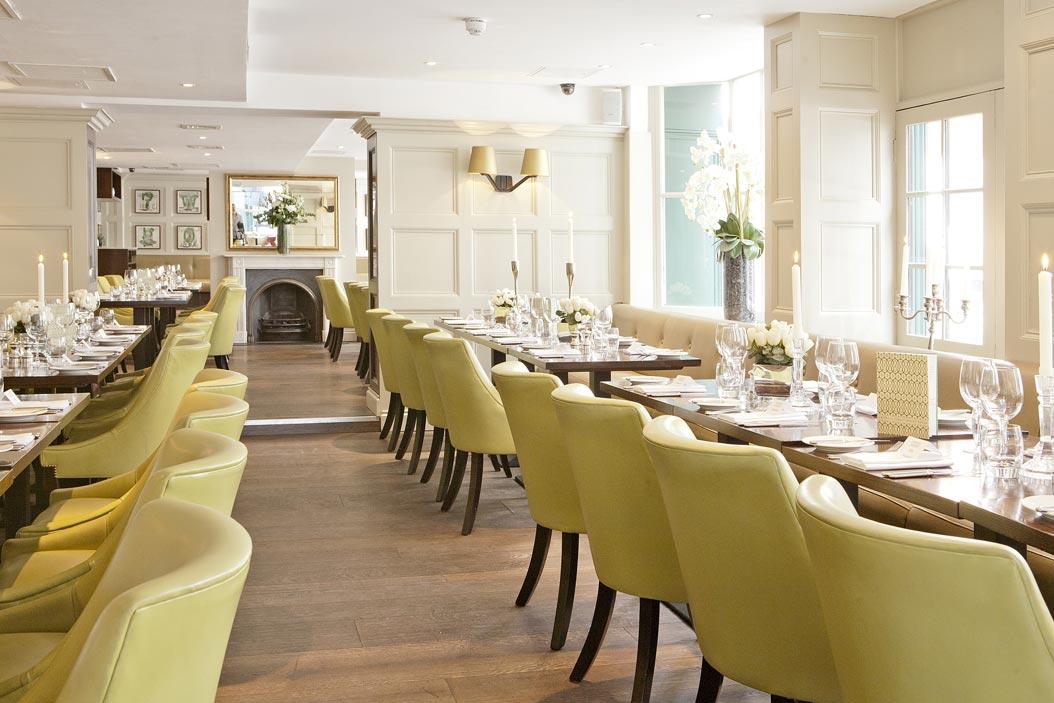 ザ・モントカーム・アット・ブルワリー・ロンドンシティのレストラン