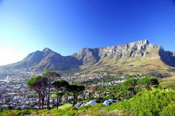ケープタウン/南アフリカの風景