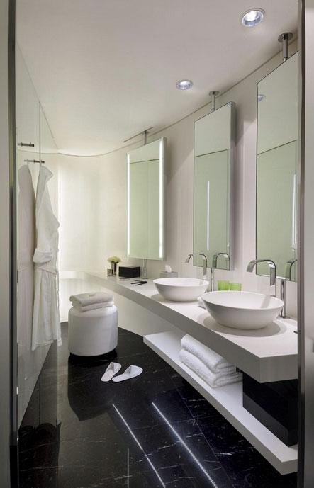ミーロンドンホテルのバスルーム