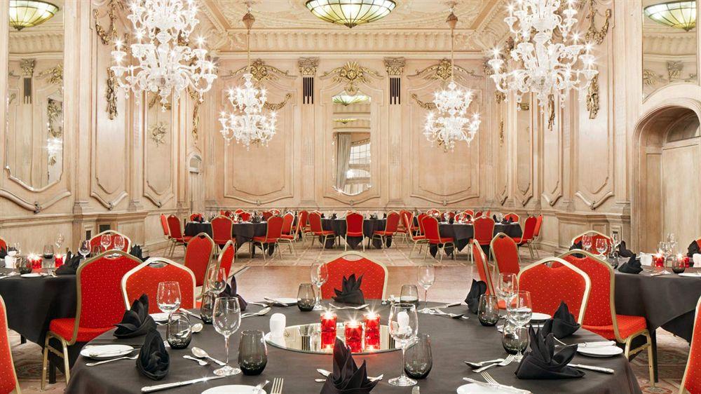ルメリディアンピカデリーホテルの会議室