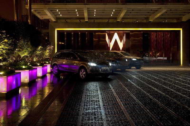 Wホテル香港のロビー2