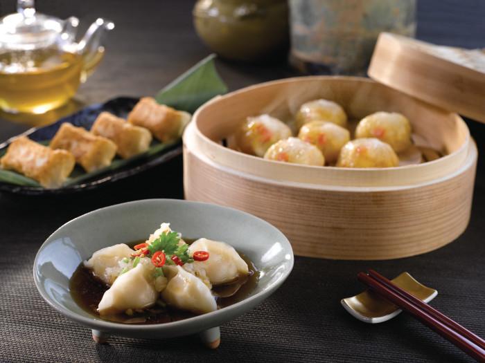マリーナ・マンダリン・シンガポール Marina Mandarin Singaporeのレストラン:ピーチ・ブロッサムの料理