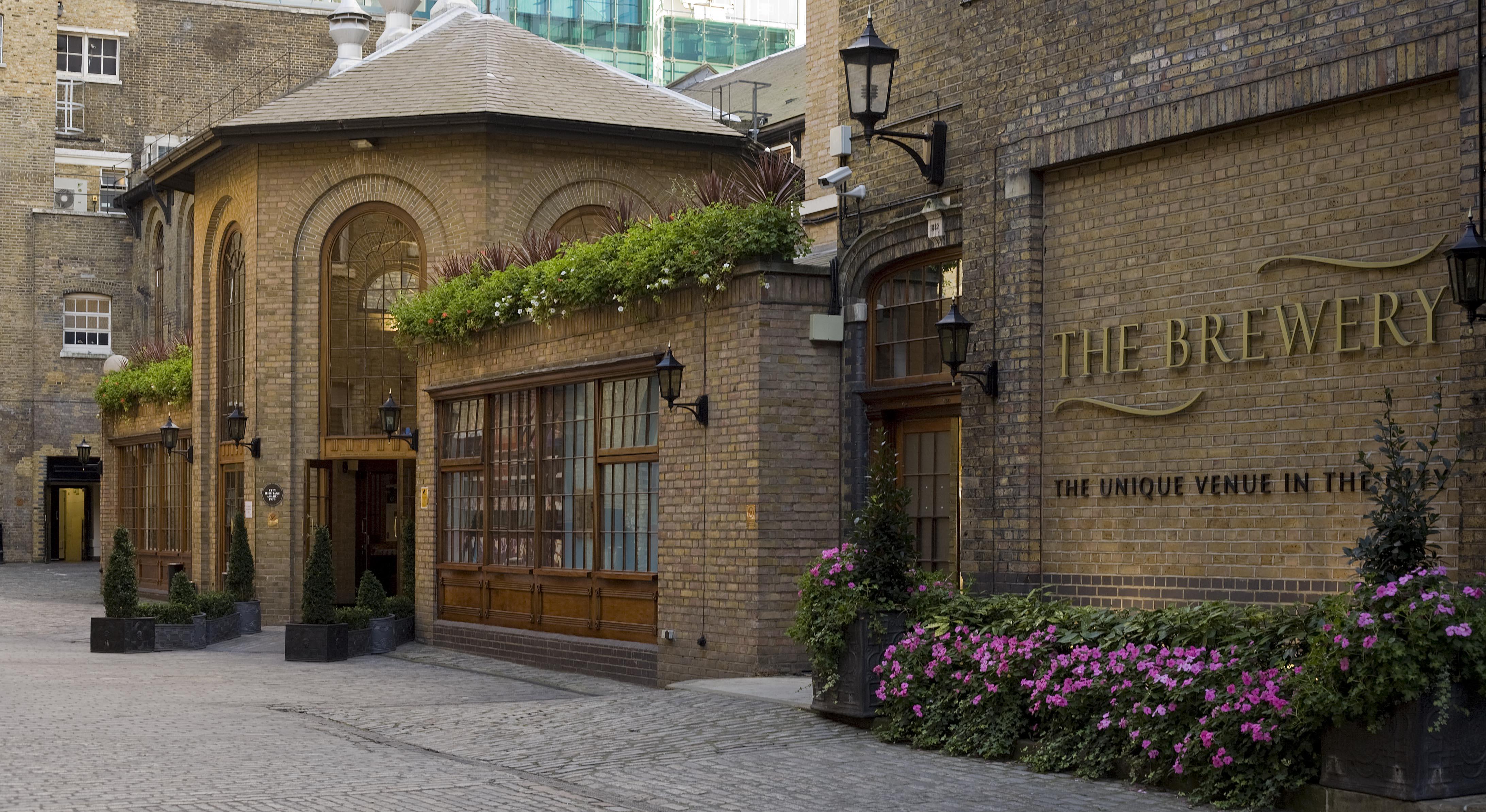 ザ・モントカーム・アット・ブルワリー・ロンドンシティの外観