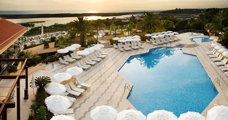 ホテル・キンタ・ド・ラゴ Hotel Quinta do Lagoのスパ