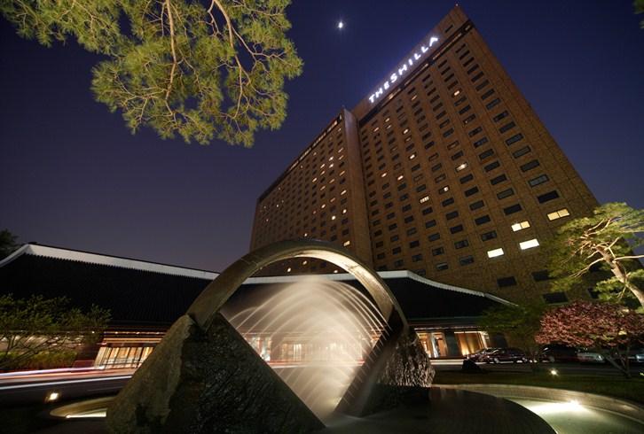 ソウル新羅ホテル The Shilla Seoulの外観