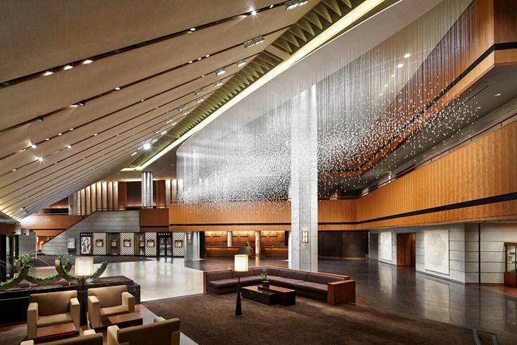 ソウル新羅ホテル The Shilla Seoulのロビー