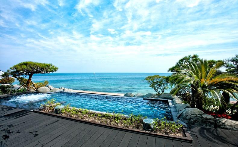 韓国の釜山の海雲台ビーチに建つ素晴らしきリゾート「パラダイス・ホテル&カジノ」