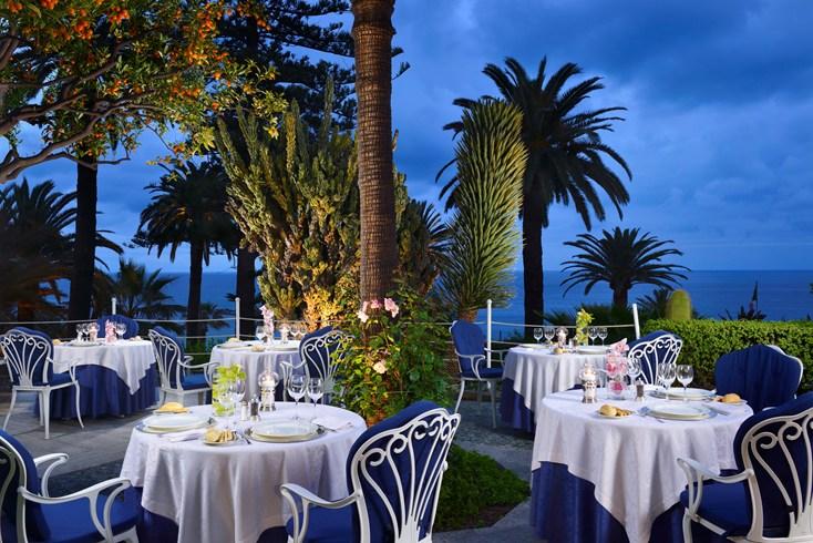 ロイヤル・ホテル・サンレモ Royal Hotel San Remoのレストラン