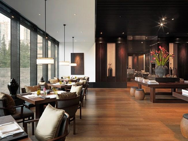 ・プリ・ホテル・アンド・スパ The PuLi Hotel and Spa 璞麗酒店のレストラン