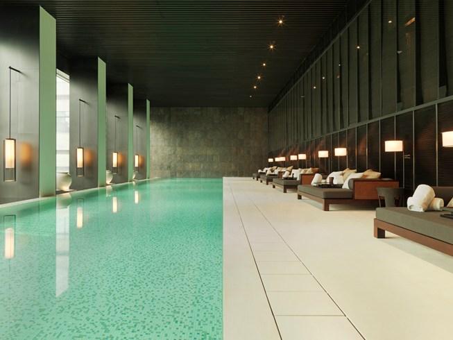 ・プリ・ホテル・アンド・スパ The PuLi Hotel and Spa 璞麗酒店のプール
