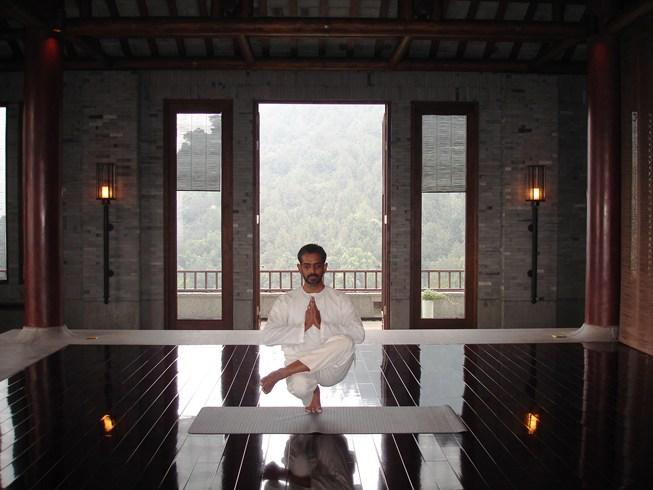 フーチュン・リゾート Fuchun Resort 富春山居度假村のヨガスタジオ