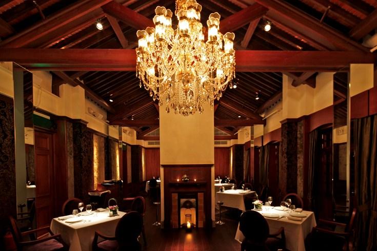 ヒューレット・ハウス Hullett Houseのレストラン