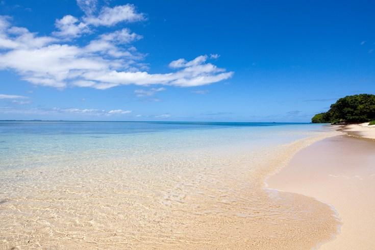 ラウカラ・アイランド・リゾート Laucala Island Resortのビーチ