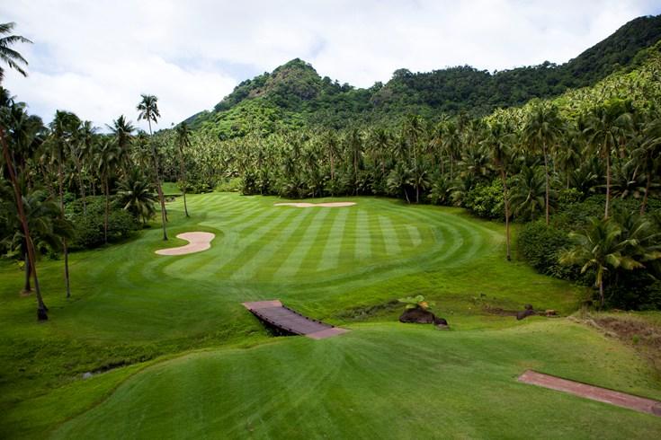 ラウカラ・アイランド・リゾート Laucala Island Resortのゴルフコース