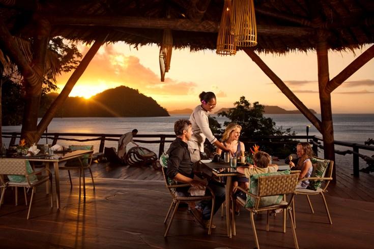 ラウカラ・アイランド・リゾート Laucala Island Resortのレストラン
