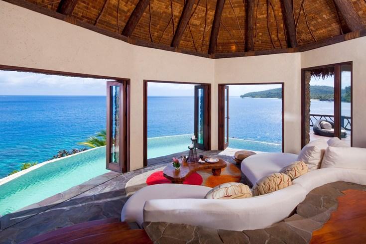 ラウカラ・アイランド・リゾート Laucala Island Resortの風景