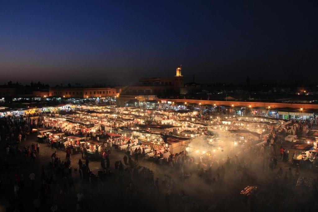 マラケシュ/モロッコの風景