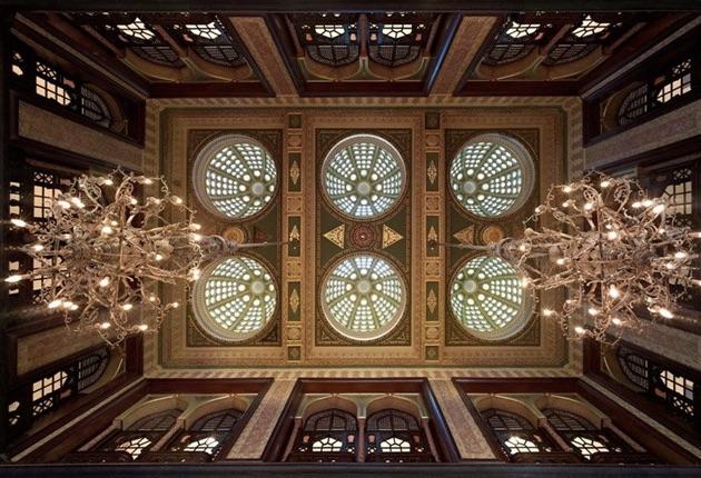 ペラ・パレス・ホテル・ジュメイラの天井