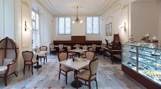 ペラ・パレス・ホテル・ジュメイラのカフェ