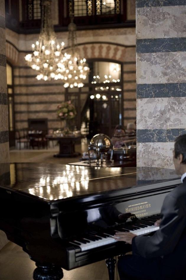 ペラ・パレス・ホテル・ジュメイラの内部