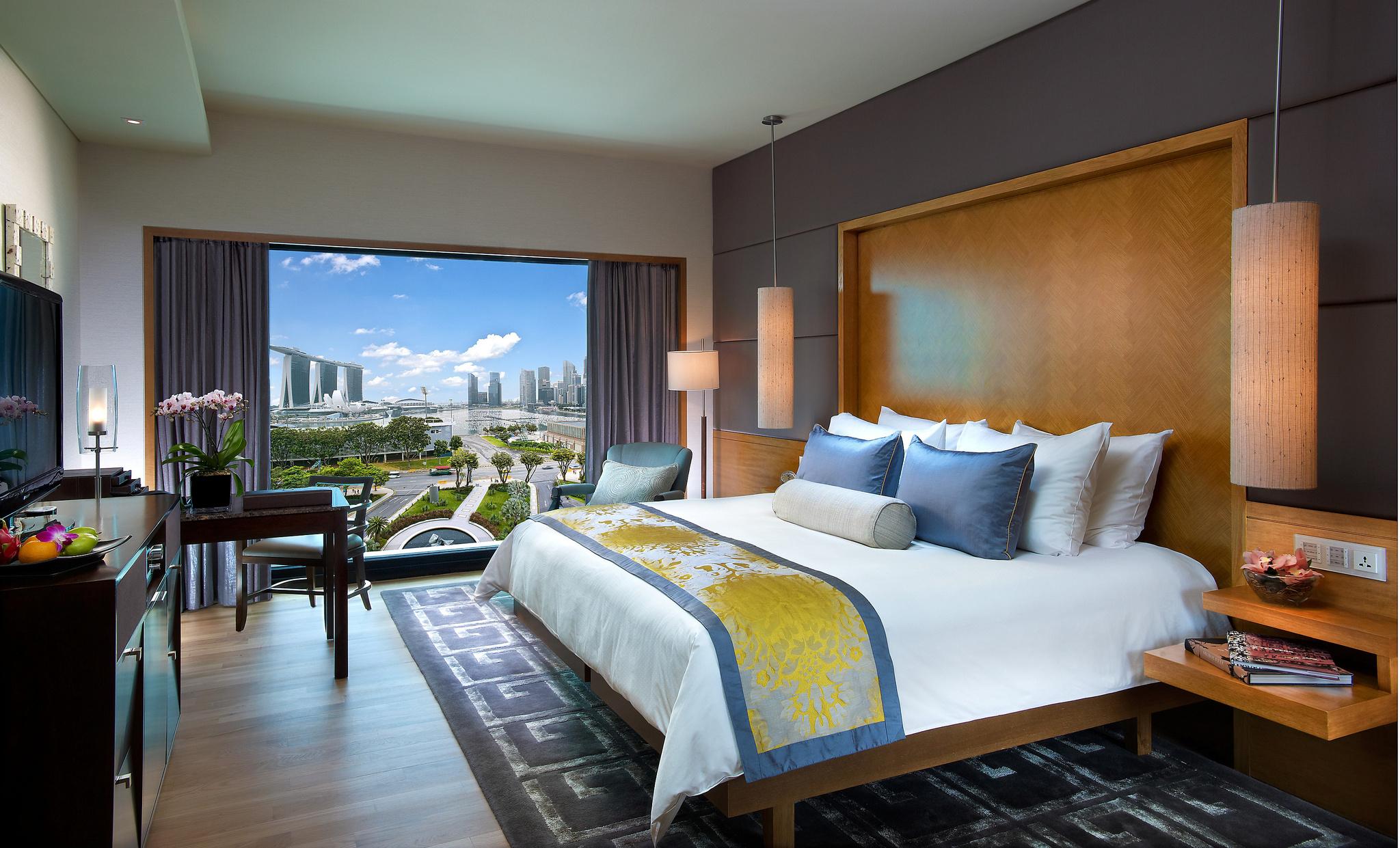 マンダリン・オリエンタル・シンガポール Mandarin Oriental Singaporeの客室