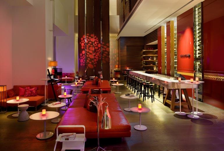 W台北 W Taipei 紫艷酒吧のバー