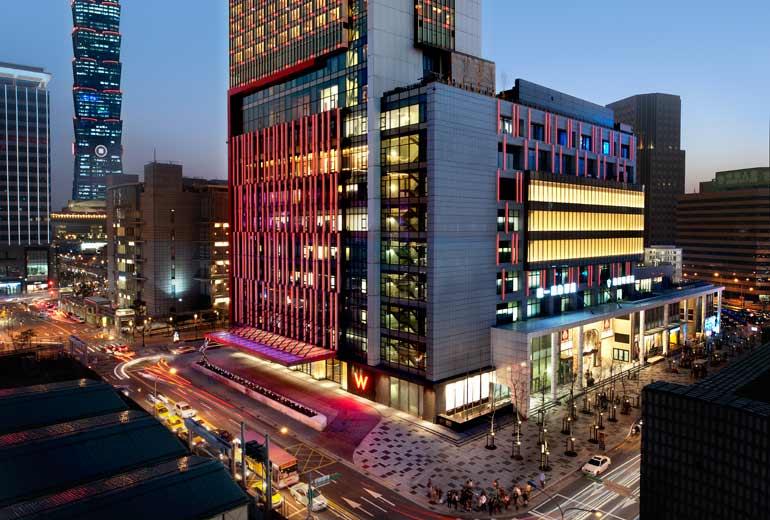 台湾のデザインホテルを牽引する「W台北」