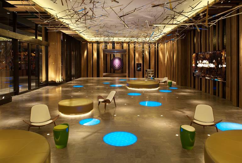 W台北 W Taipei 紫艷酒吧のロビー