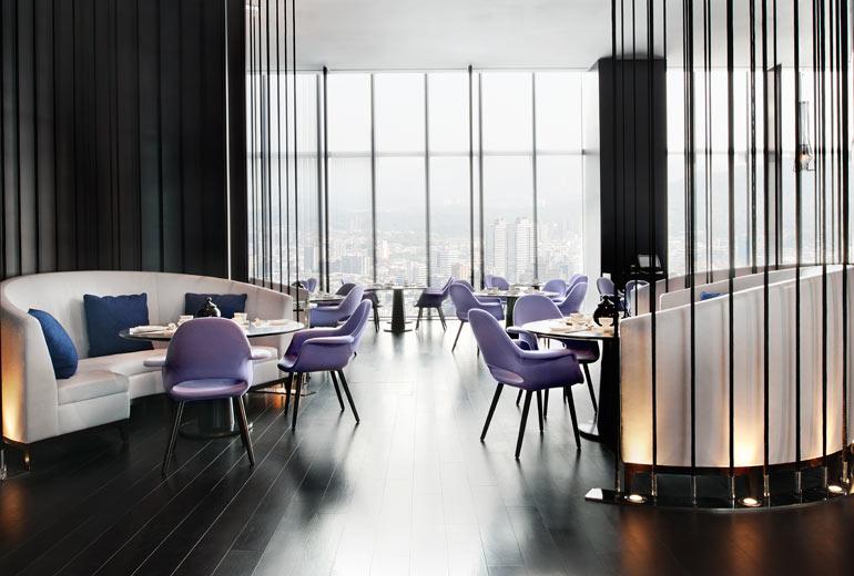 W台北 W Taipei 紫艷酒吧のレストラン