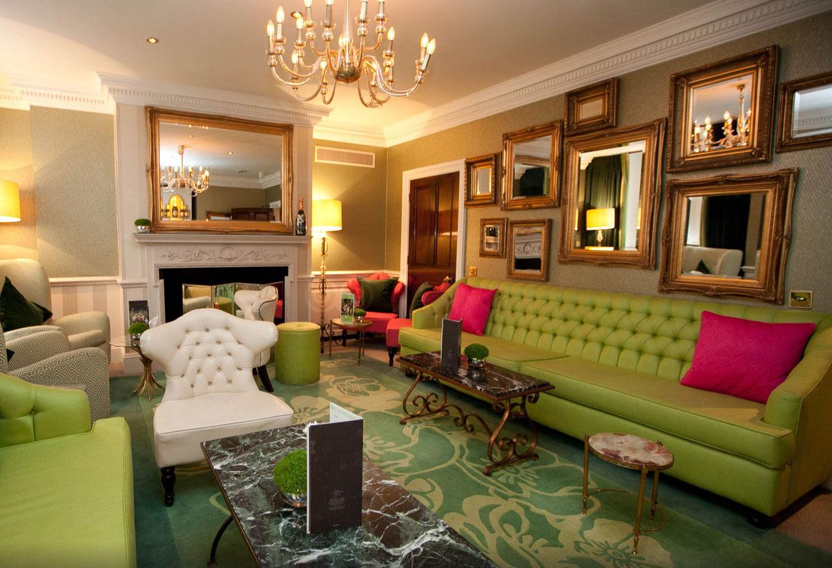 デュークス・ホテルのカフェ