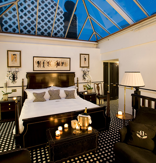 ホテル・41のConservatory-Suite