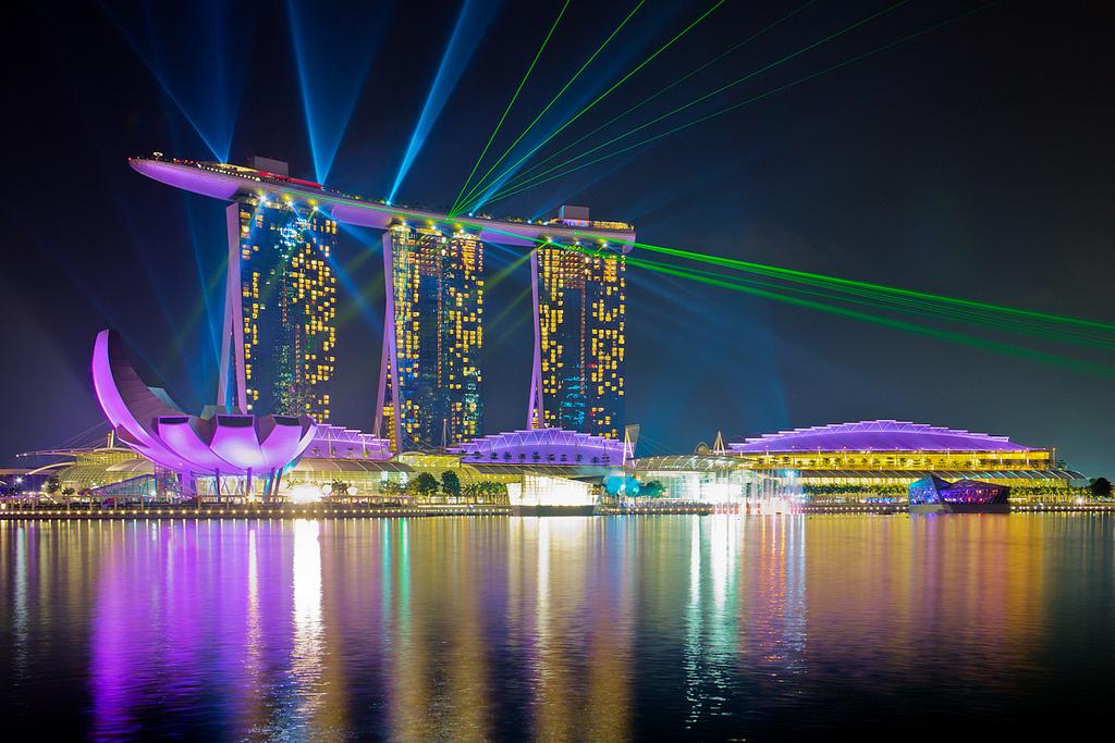 シンガポール「マリーナベイサンズ」