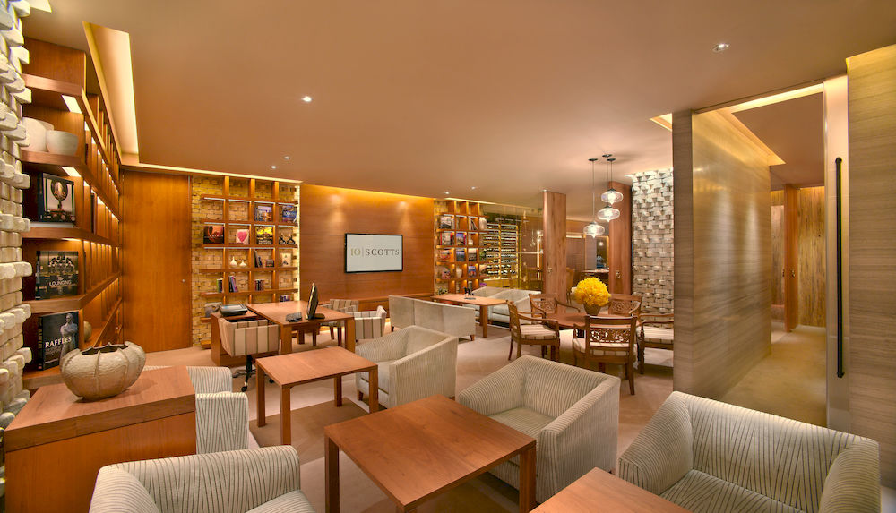 グランド・ハイアット・シンガポール Grand Hyatt Singaporeの10 SCOTTS(10スコッツ)