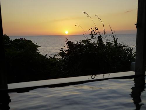海椿葉山のお風呂から風景