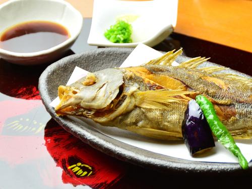 海椿葉山のいさき料理