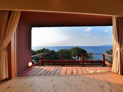 極上の環境と温泉を堪能できる椿温泉の隠れ宿「海椿葉山」