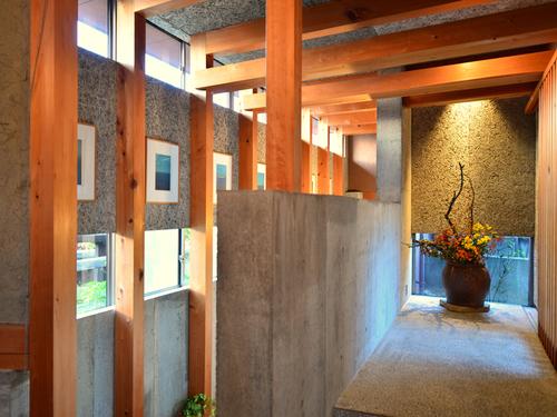 海椿葉山の廊下
