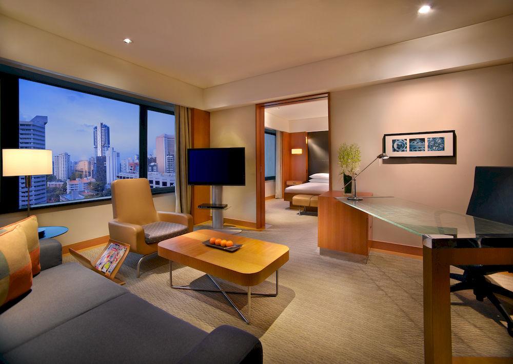 グランド・ハイアット・シンガポール Grand Hyatt Singaporeのクラブ・デラックス・キングルーム