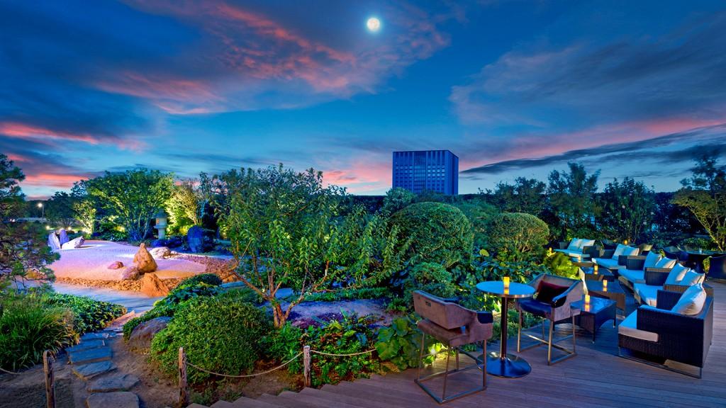 セント・レジス・ホテル大阪 The St. Regis OSAKAの庭園