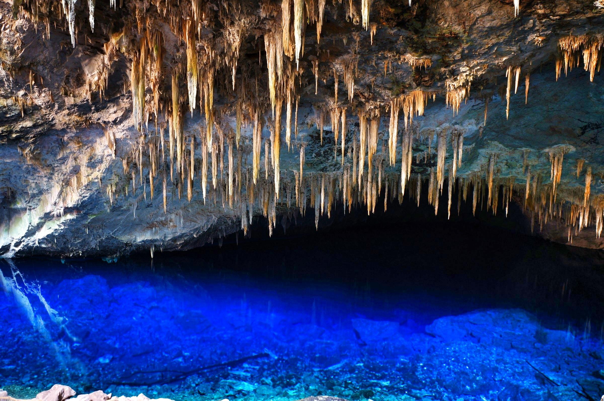 ブラジル青の洞窟