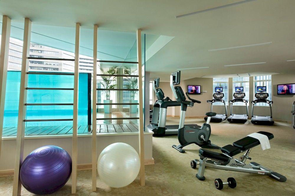 アスコット・ラッフルズ・プレイス・シンガポール Ascott Raffles Place Singaporeのフィットネスセンター