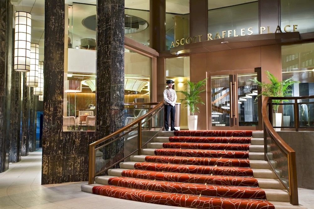 アスコット・ラッフルズ・プレイス・シンガポール Ascott Raffles Place Singaporeのロビー